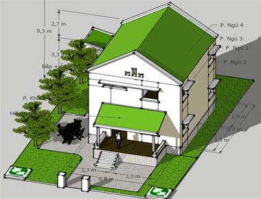 Hợp đồng thiết kế nhà phố