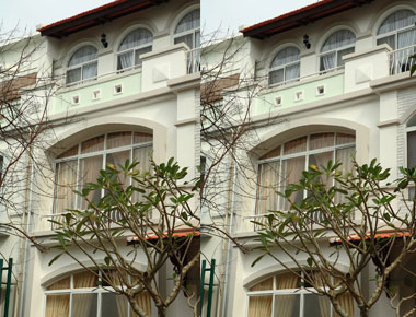 Thi công mẫu nhà 2 tầng tại quận 2