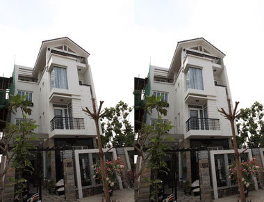 Mẫu biệt thự 3 tầng độc đáo sang trọng