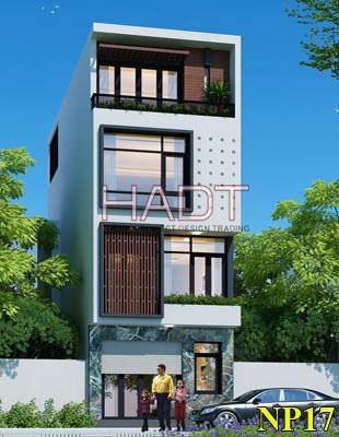 Mẫu thiết kế nhà phố đẹp 4 tầng hiện…
