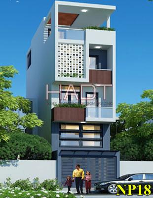 Mẫu thiết kế nhà phố 3 tầng 1 tum đẹp…