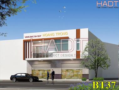 Thiết kế nhà phố đẹp kết hợp kinh doanh