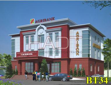 Thiết kế ngân hàng Agribank